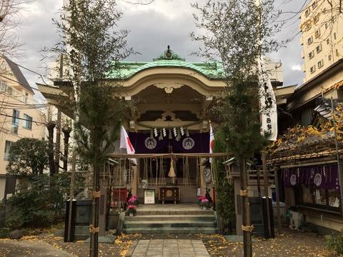 浅草七福神めぐり⑦ 「矢先神社」!九は数の極みであり、陽をあらわす