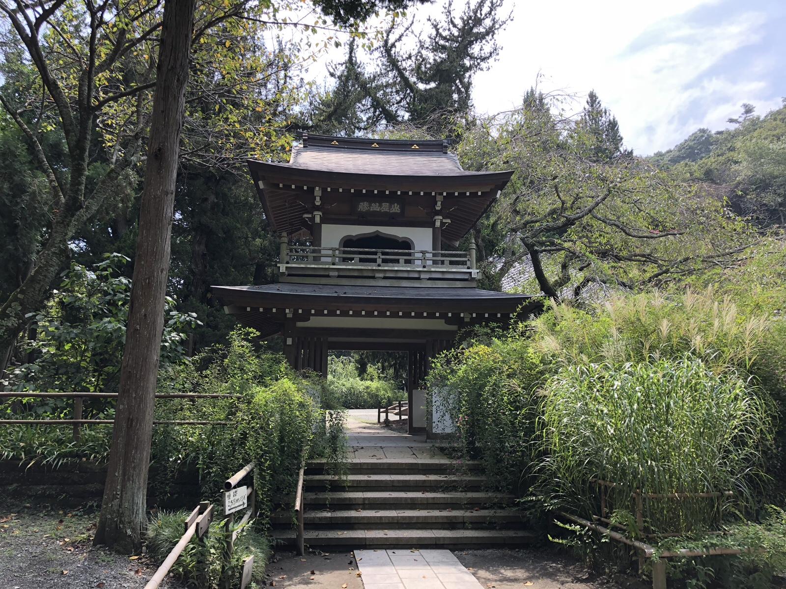 鎌倉七福神巡り「浄智寺」 山居幽勝と笑顔の布袋様、建長寺も